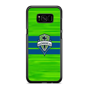 MLS Seattle Sounders FC Green Pixel Samsung Galaxy S8 Case