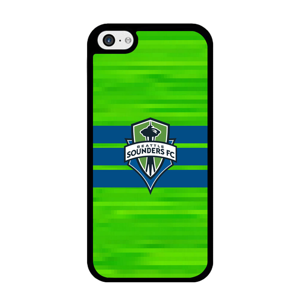 MLS Seattle Sounders FC Green Pixel iPhone 5 | 5s Case