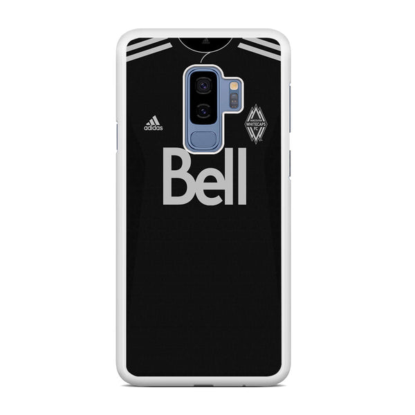 MLS Whitecaps Costume Black Samsung Galaxy S9 Plus Case