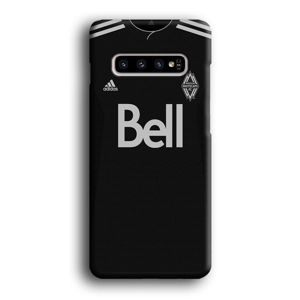 MLS Whitecaps Costume Black Samsung Galaxy S10 Plus Case