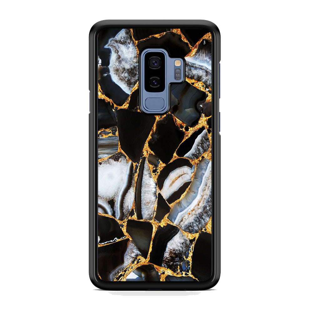 Marble Gold Paste Samsung Galaxy S9 Plus Case