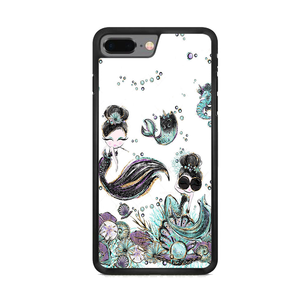 Mermaid Happiness iPhone 8 Plus Case