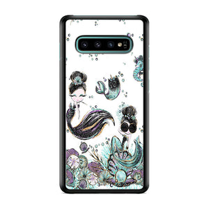 Mermaid Happiness Samsung Galaxy S10 Plus Case