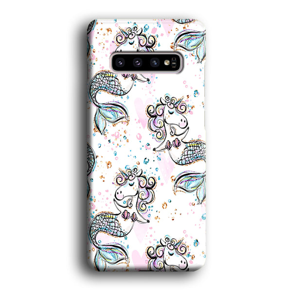 Mermaid Unicorn Samsung Galaxy S10 Case