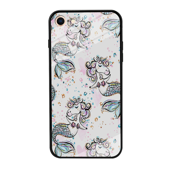 Mermaid Unicorn iPhone 8 Case