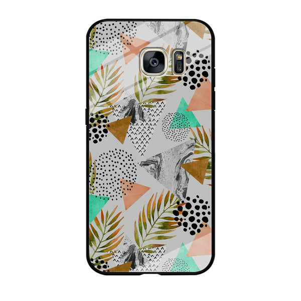 Mix Shape Nature Elements Samsung Galaxy S7 Edge Case