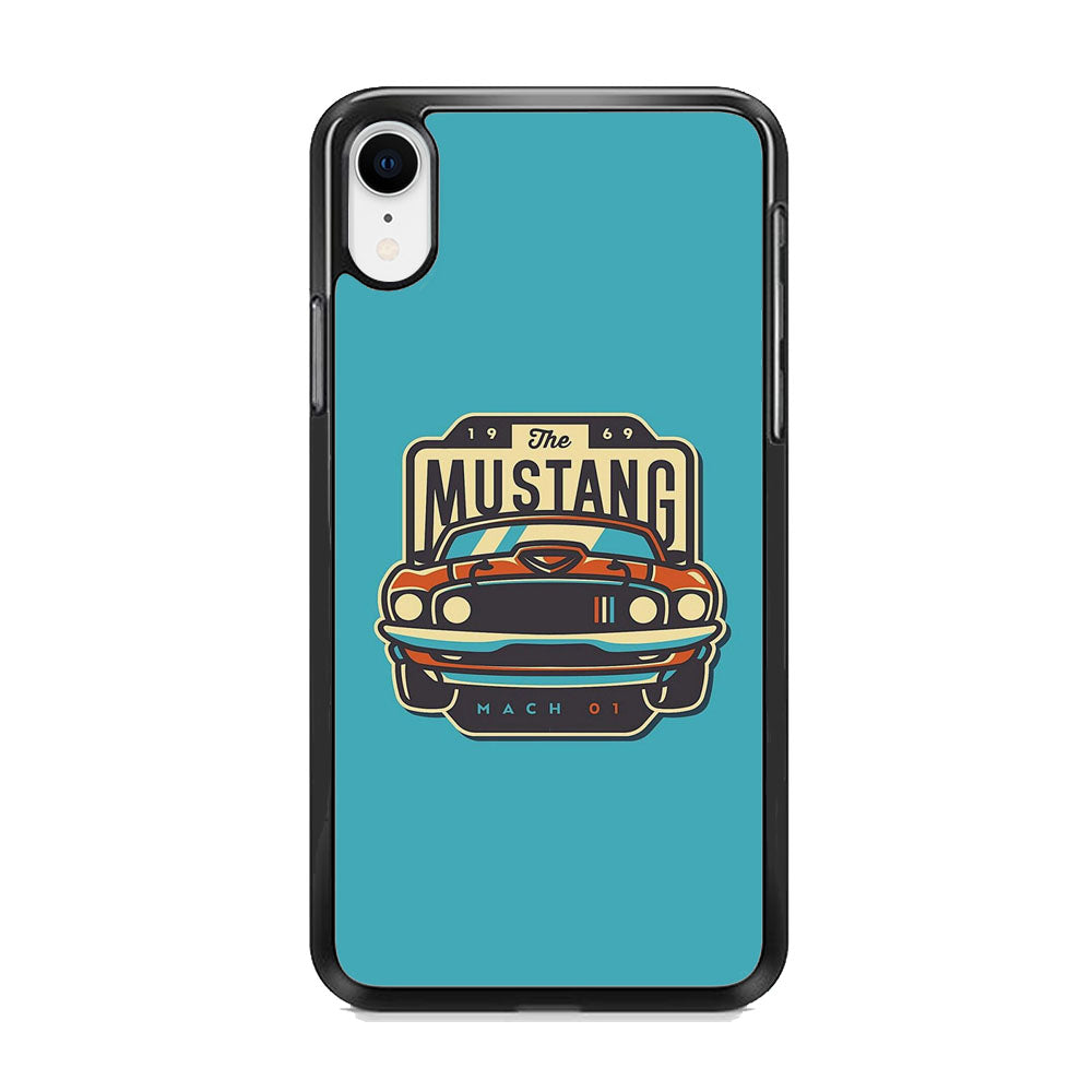 Mustang Mach 01 iPhone XR Case