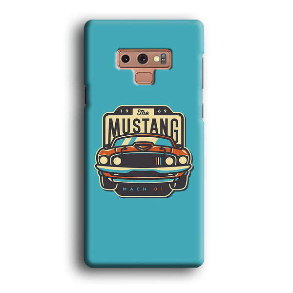 Mustang Mach 01 Samsung Galaxy Note 9 Case