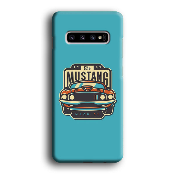 Mustang Mach 01 Samsung Galaxy S10 Plus Case