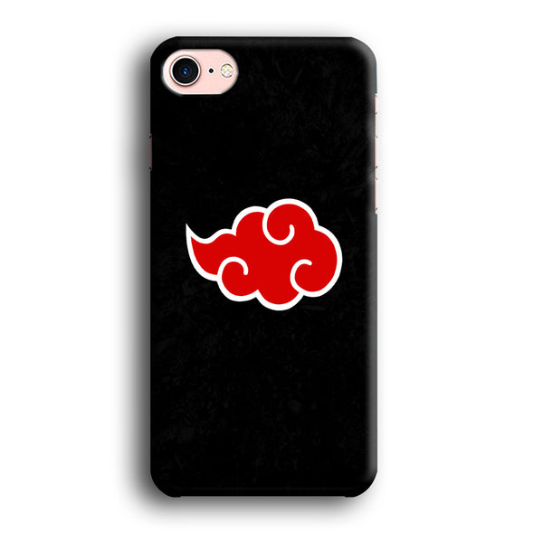 Naruto Akatsuki Simple Logo Black Abstract iPhone 7 Case