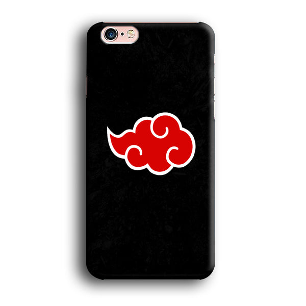 Naruto Akatsuki Simple Logo Black Abstract iPhone 6 | 6s Case