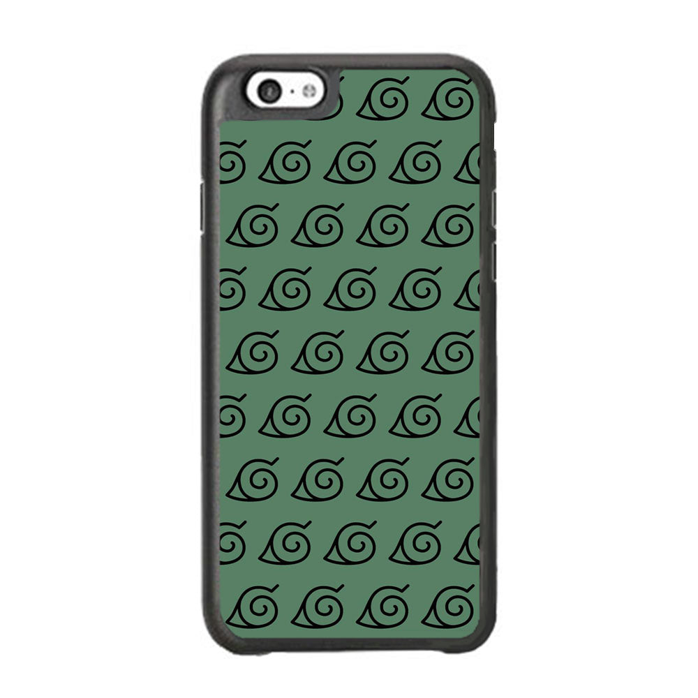 Naruto Konoha Symbol Green Wallpaper iPhone 6 | 6s Case