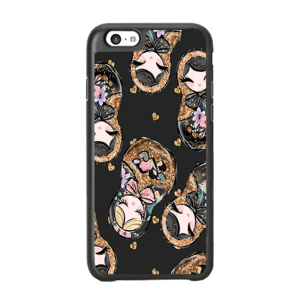 Nesting Dolls Dark Choco iPhone 6 Plus | 6s Plus Case