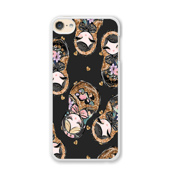 Nesting Dolls Dark Choco iPod Touch 6 Case