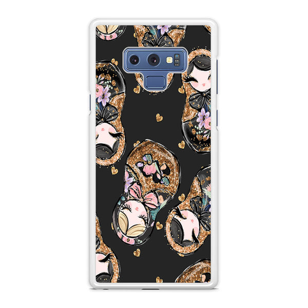 Nesting Dolls Dark Choco Samsung Galaxy Note 9 Case