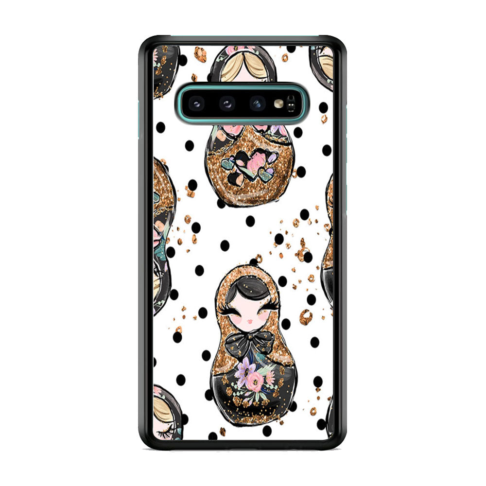 Nesting Dolls Dot Samsung Galaxy S10 Plus Case