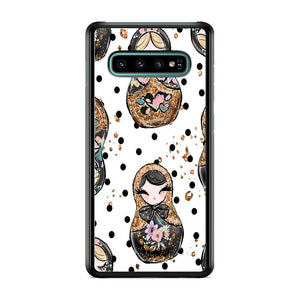 Nesting Dolls Dot Samsung Galaxy S10 Case