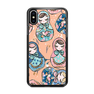 Nesting Dolls Dusk Color iPhone XS MAX Case