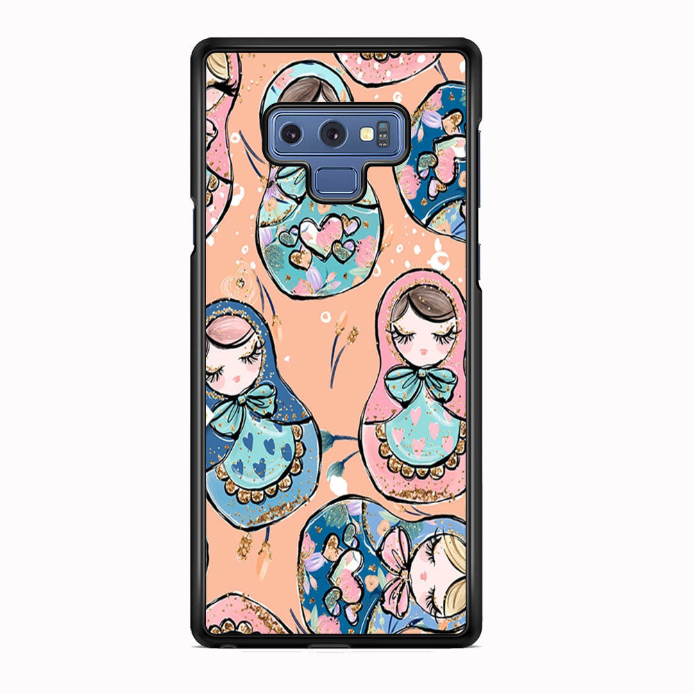 Nesting Dolls Dusk Color Samsung Galaxy Note 9 Case