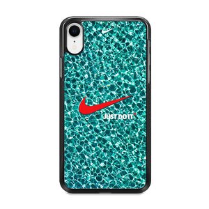 Nike Red Shiny iPhone XR Case