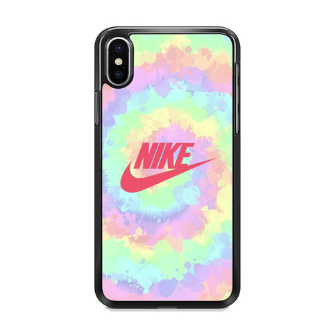 Nike Ring of Rainbow iPhone XS Case