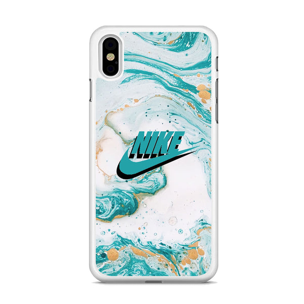 Nike Shadow in Blue Marble iPhone XS MAX Case