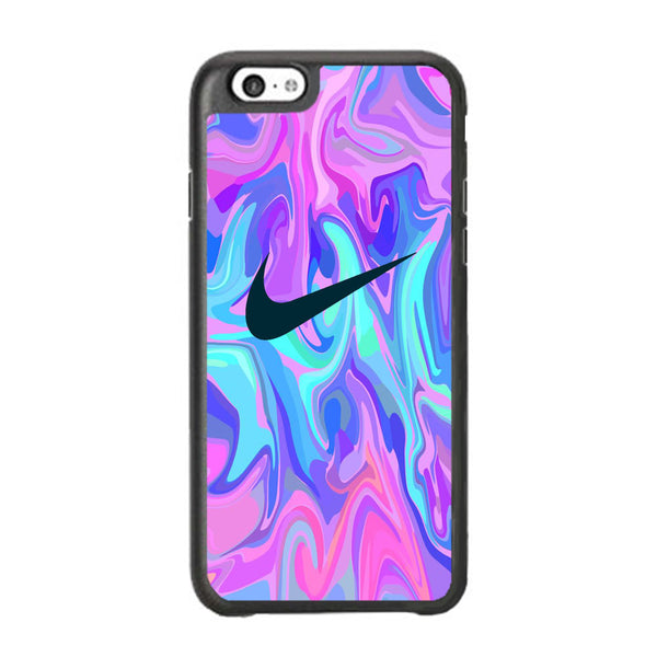 Nike Soft Marble Navy Logo iPhone 6 | 6s Case
