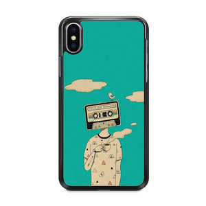 Nostalgia Mixtape iPhone XS Case