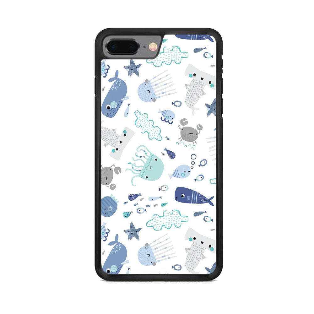 Ocean in Child Imagination iPhone 7 Plus Case