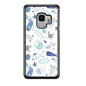 Ocean in Child Imagination Samsung Galaxy S9 Case