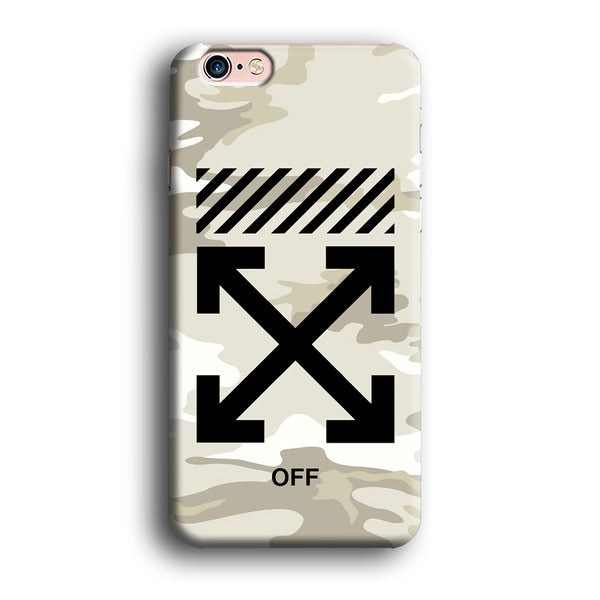 Off White Camo Light iPhone 6 | 6s Case