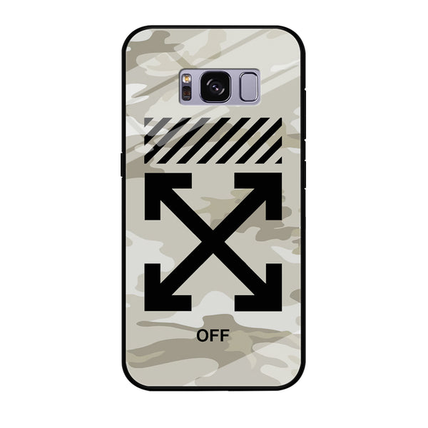Off White Camo Light Samsung Galaxy S8 Plus Case