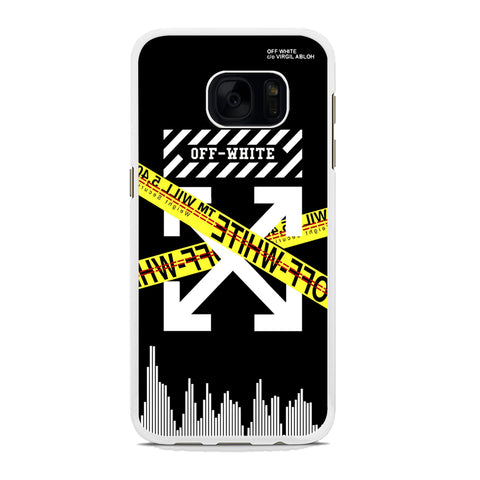 Off White Gen Z Vibes Samsung Galaxy S7 Case