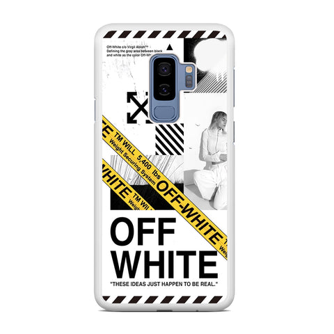 Off White Ideas of Ambition Samsung Galaxy S9 Plus Case