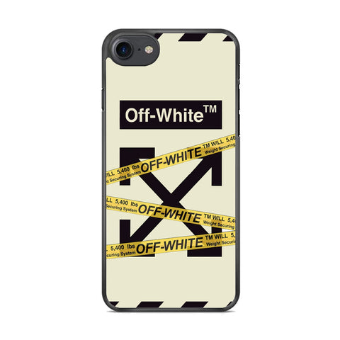 Off White Line Belts iPhone 8 Case