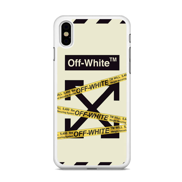 Off White Line Belts iPhone X Case