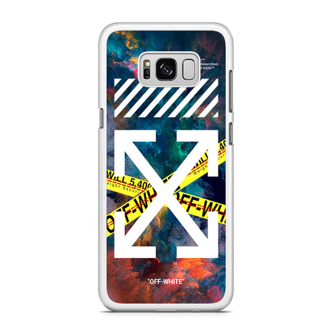 Off White Space Line Samsung Galaxy S8 Plus Case