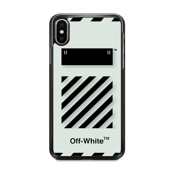 Off White Template iPhone XS Case