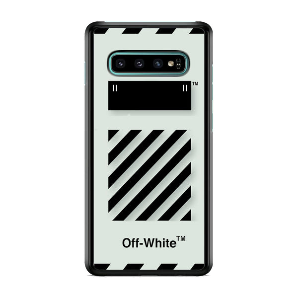 Off White Template Samsung Galaxy S10 Case