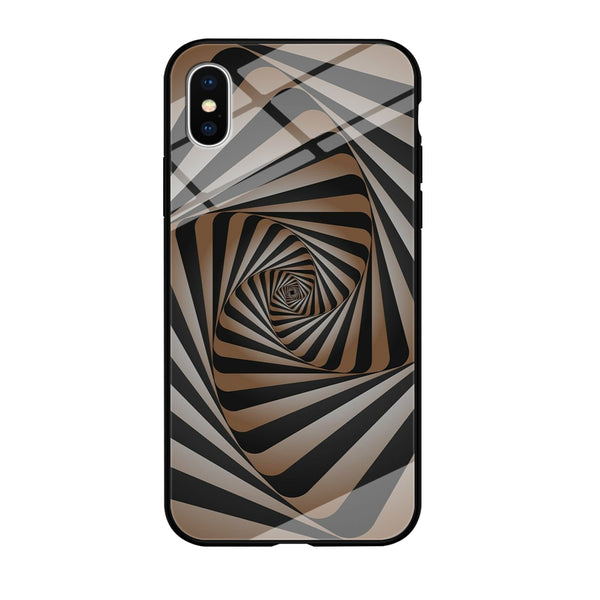Optical Illusion 006 iPhone X Case