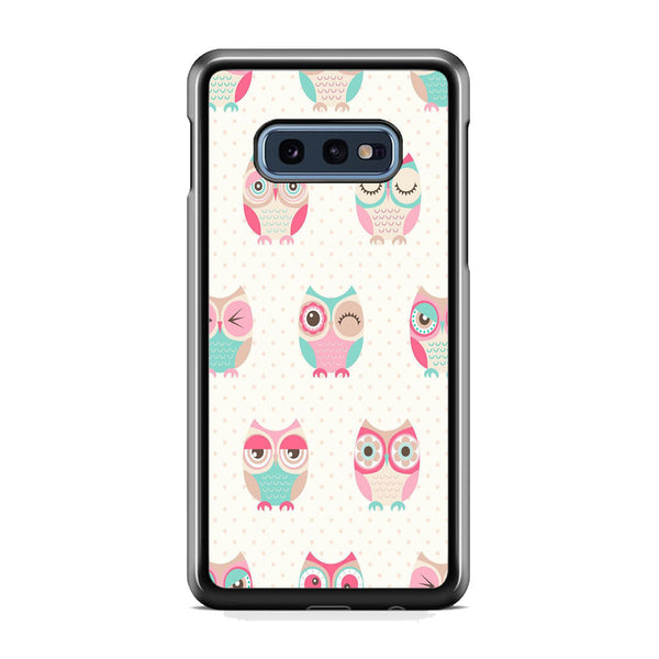 Owl Art Samsung Galaxy S10E Case