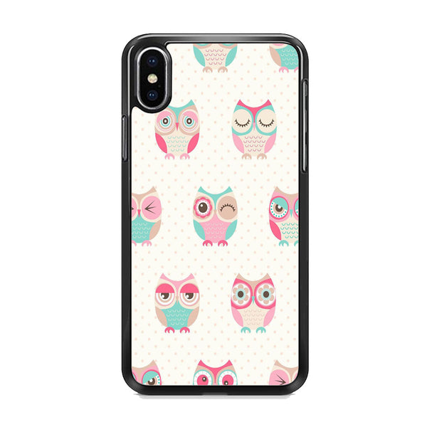 Owl Art iPhone XS Case