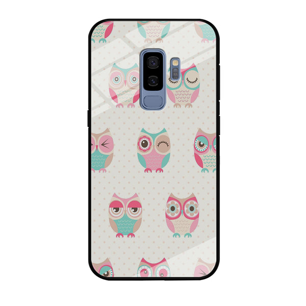 Owl Art Samsung Galaxy S9 Plus Case