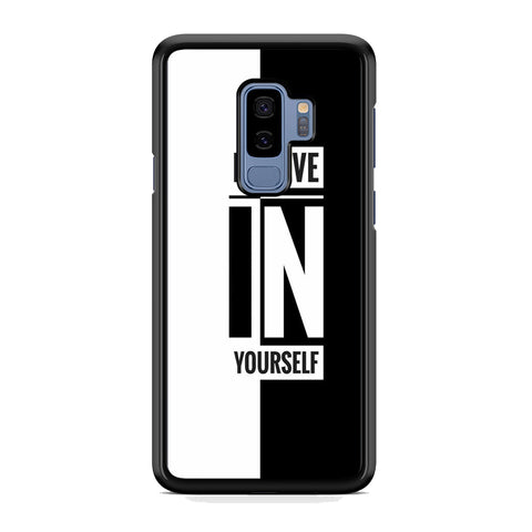Quote Belive Yourself Samsung Galaxy S9 Plus Case