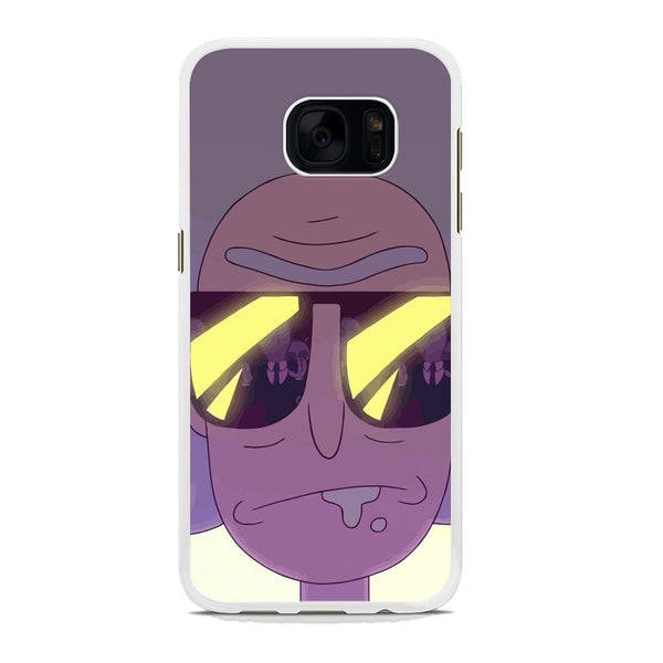 Rick And Morty Glasses Samsung Galaxy S7 Case