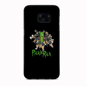 Rick And Morty Jhon Pickle Rick Samsung Galaxy S7 Edge Case