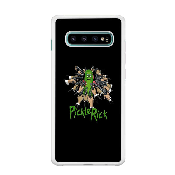 Rick And Morty Jhon Pickle Rick Samsung Galaxy S10 Case