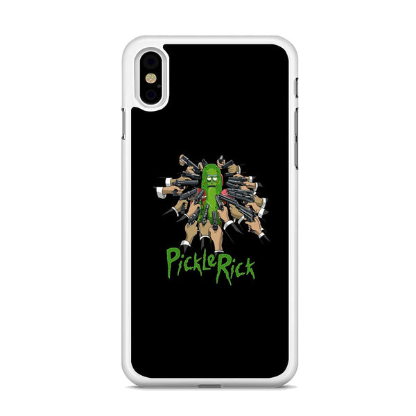 Rick And Morty Jhon Pickle Rick iPhone XS MAX Case