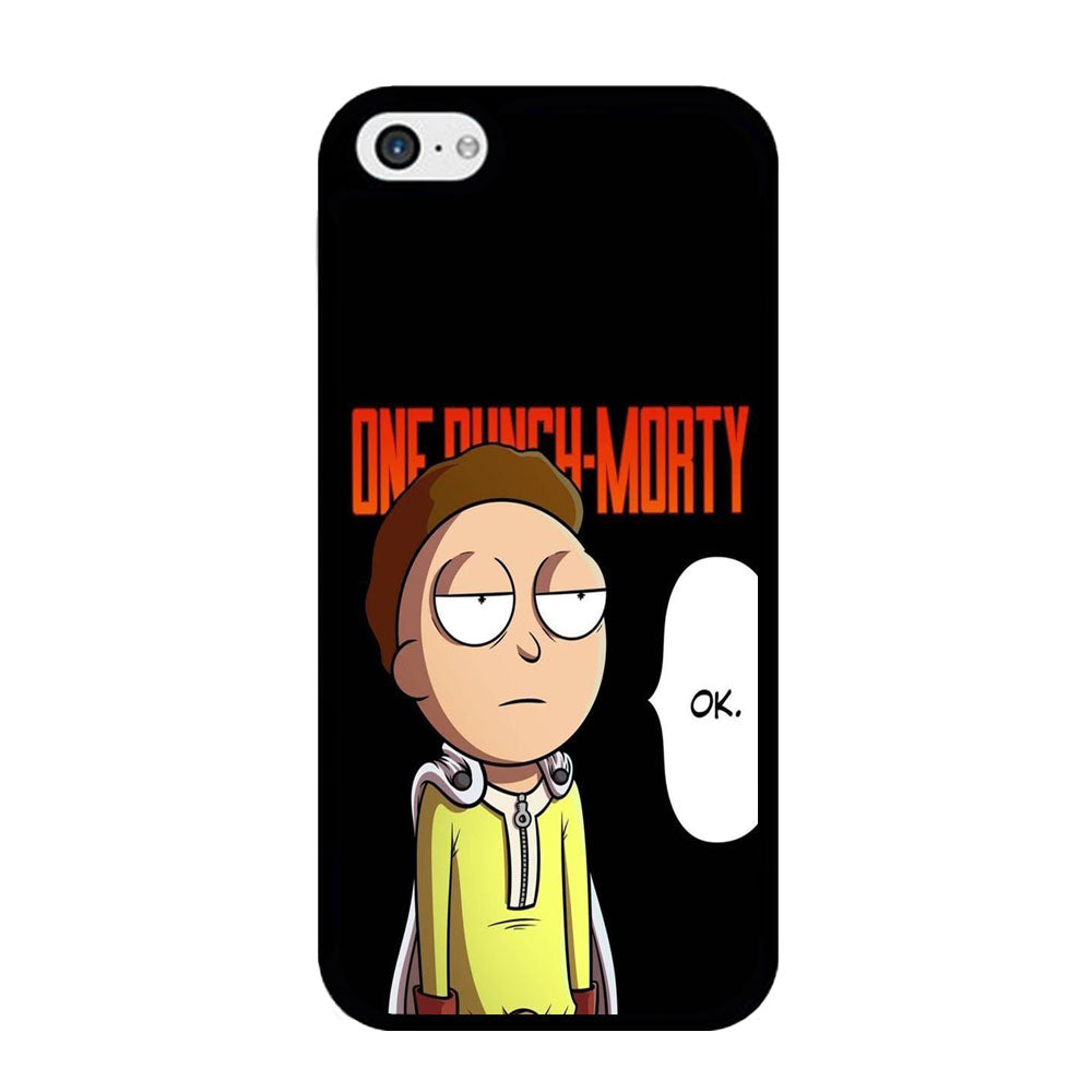 Rick And Morty One Touch Morty iPhone 5 | 5s Case