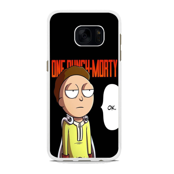 Rick And Morty One Touch Morty Samsung Galaxy S7 Edge Case
